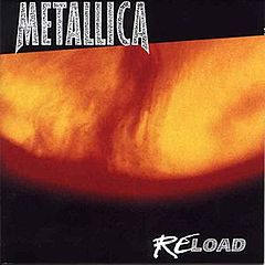Обкладинка альбому «ReLoad» (Metallica, 1997)