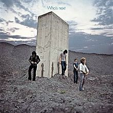 Обкладинка альбому «Who's Next» (The Who, 1971)