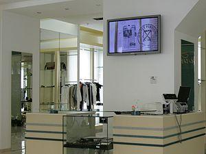 Digital Signage в магазині одежі в Києві