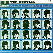 Обкладинка альбому «A Hard Day's Night» (The Beatles, 1963)