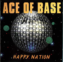 Обкладинка альбому «Happy Nation» (Ace of Base, 1993)