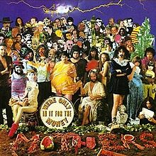 Обкладинка альбому «We're Only in It for the Money» (Френка Заппи і The Mothers of Invention, 1968)