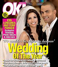 Eva Longoria and Tony Pareker on Ok!.jpg