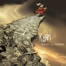 Обкладинка альбому «Follow The Leader» (Korn, 1998)