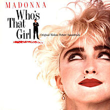 Обкладинка альбому «Who's That Girl» (Мадонни, 1987)