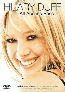 Обкладинка альбому «All Access Pass» (Гіларі Дафф, 2003)