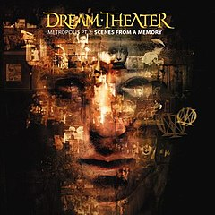 Обкладинка альбому «Metropolis Pt. 2: Scenes from a Memory» (Dream Theater, 1999)