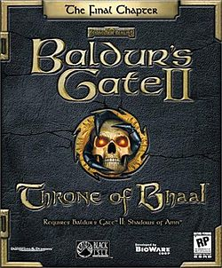 Обкладинка для Baldur's Gate II: Throne of Bhaal
