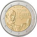 €2 Commemorative coin France 2010.jpg