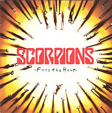 Обкладинка альбому «Face the Heat» (Scorpions, 1993)