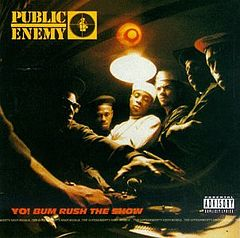 Обкладинка альбому «Yo! Bum Rush the Show» (Public Enemy, 1987)