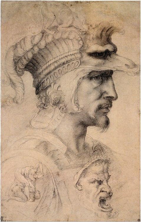 Мікеланджело, граф Каносса штудія вояка 1550-1580