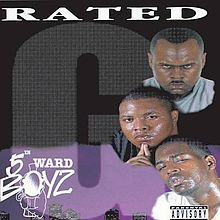 Обкладинка альбому «Rated G» (5th Ward Boyz, 1995)