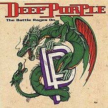 Обкладинка альбому «The Battle Rages On…» (Deep Purple, 1993)