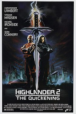 Highlander II The Quickening poster.jpg
