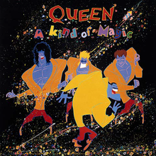 Обкладинка альбому «A Kind of Magic» (Queen, 1986)