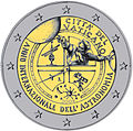 €2 commemorative coin Vatican City 2009.jpg