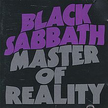 Обкладинка альбому «Master of Reality» (Black Sabbath, 1971)