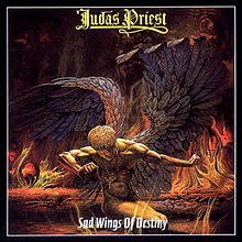 Обкладинка альбому «Sad Wings Of Destiny» (Judas Priest, 1976)