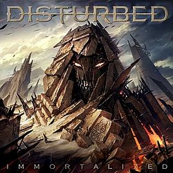 Disturbed - Immortalized (album cover).jpg