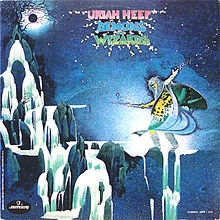 Обкладинка альбому «Demons and Wizards» (Uriah Heep, 1972)