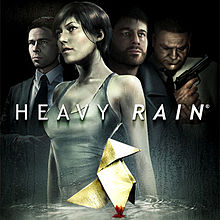 Обкладинка альбому «Heavy Rain (Original Soundtrack from the Video Game)» (Композитор — Normand Corbeil, 2010)