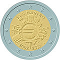 €2 commemorative coin San-Marino 2012.jpg