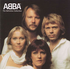 Обкладинка альбому «The Definitive Collection» (ABBA, 2001)