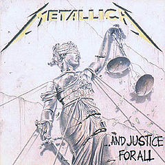 Обкладинка альбому «...And Justice for All» (Metallica, 1988)
