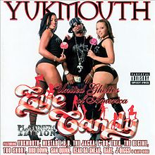 Обкладинка альбому «United Ghettos of America: Eye Candy» (Yukmouth, 2007)