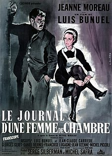 The Diary of a Chambermaid-1964 poster.jpg