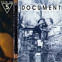 Обкладинка альбому «Document» (R.E.M., 1988)