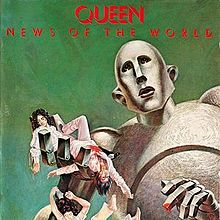Обкладинка альбому «News of the World» (Queen, 1977)