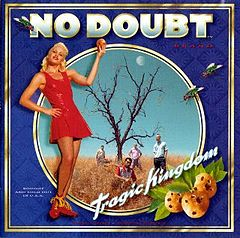 Обкладинка альбому «Tragic Kingdom» (No Doubt, 1995)