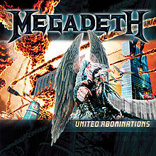 Обкладинка альбому «United Abominations» (Megadeth, 2007)
