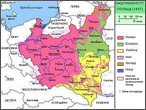 Географічна карта - Польща (Republic of Poland) - MAP685poiskobuvi.ru