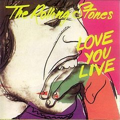 Обкладинка альбому «Love You Live» (The Rolling Stones, 1977)