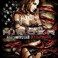 Обкладинка альбому «All American Nightmare» (Hinder, 2010)