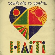 Обкладинка альбому «Download to Donate for Haiti» (2010)