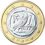 1 Євро аверс Греція