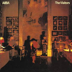 Обкладинка альбому «The Visitors» (ABBA, 1981)