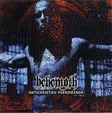 Обкладинка альбому «Antichristian Phenomenon» (Behemoth, 2001)