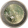 €2 commemorative coin San Marino 2008.jpg