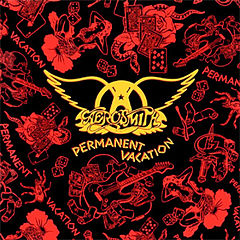 Обкладинка альбому «Permanent Vacation» (Aerosmith, 1987)
