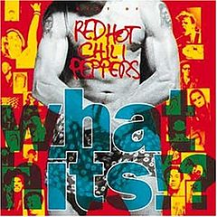 Обкладинка альбому «What Hits!?» (Red Hot Chili Peppers, 1992)