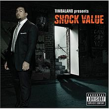 Обкладинка альбому «Shock Value» (Timbaland, 2007)