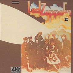 Обкладинка альбому «Led Zeppelin II» (Led Zeppelin, 1969)