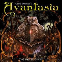 Обкладинка альбому «The Metal Opera» (Avantasia, 2001)