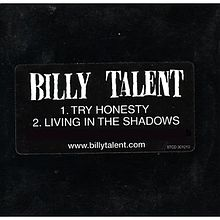 Обкладинка альбому «Try Honesty/Living in the Shadows» (Billy Talent, 2003)