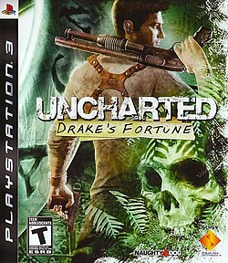 Uncharted Drake's Fortune cover art.jpg